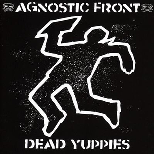 Agnostic Front - Dead Yuppies (blue vinyl) LP