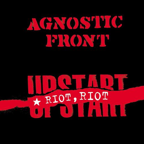 Agnostic Front - Riot, Riot, Upstart (yellow vinyl) LP