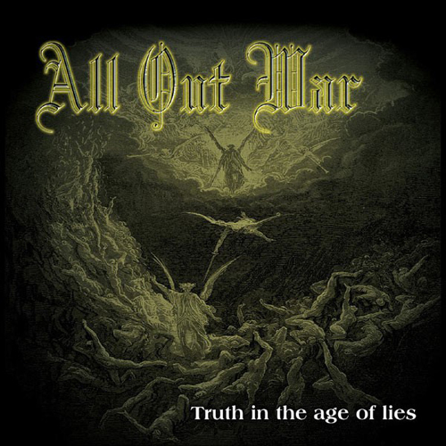 All Out War - Truth In The Age Of Lies CD