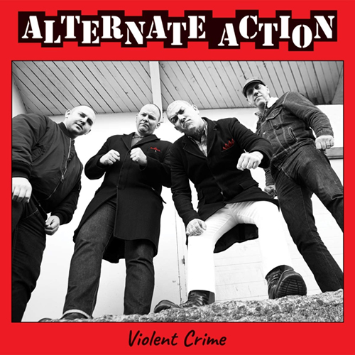 Alternate Action - Violent Crime (white vinyl) LP