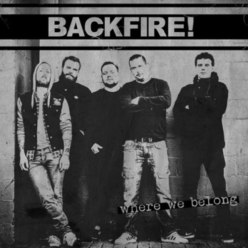 Backfire - Where We Belong CD