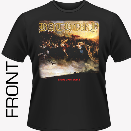 Bathory - Blood Fire Death Shirt