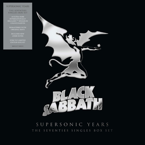 Black Sabbath - Supersonic Years: The Seventies Singles Box EP boxset