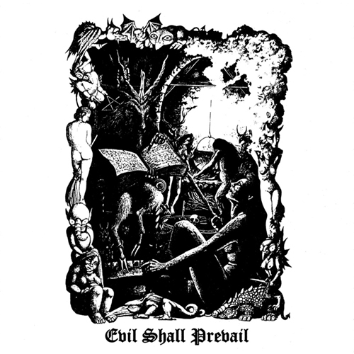 Black Witchery - Evil Shall Prevail 2xLP