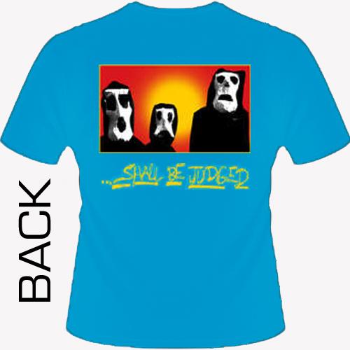 Burn - Shall Be Judged (blue) Shirt