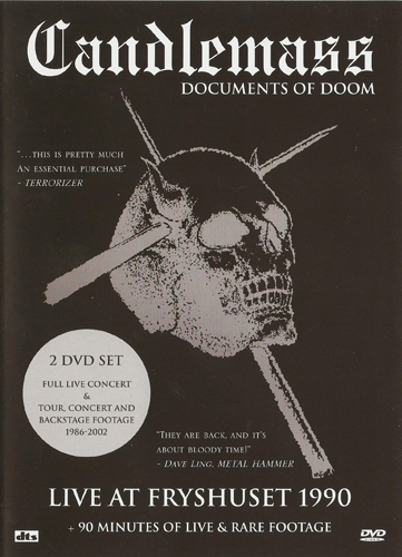 Candlemass - Documents Of Doom 2xDVD