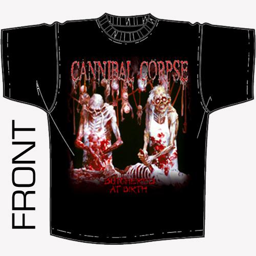 Cannibal Corpse - Butchered At Birth Shirt
