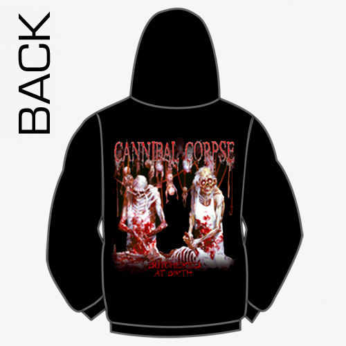 f72ccfd57e4 Cannibal Corpse - Butchered At Birth Zip Up