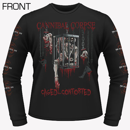 Cannibal Corpse - Caged Contorted LongSleeve