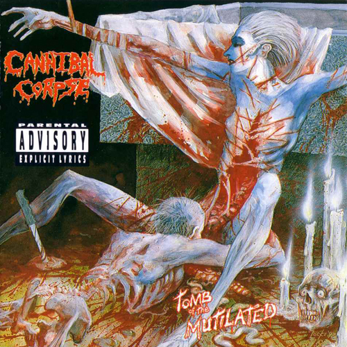 Cannibal Corpse - Tomb Of The Mutilated LP