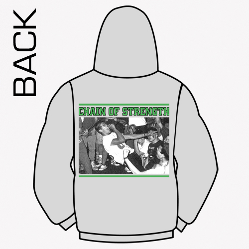 Chain Of Strength - The One Thing That Still Holds True Hooded Sweater