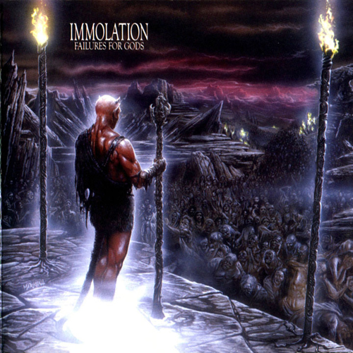 Immolation - Failures For Gods CD