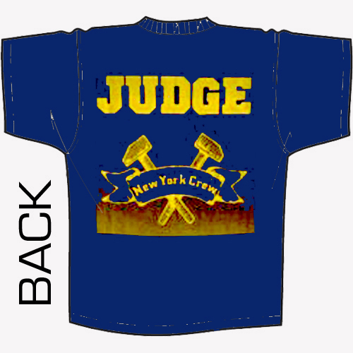 Judge - New York Crew (navy blue) Shirt