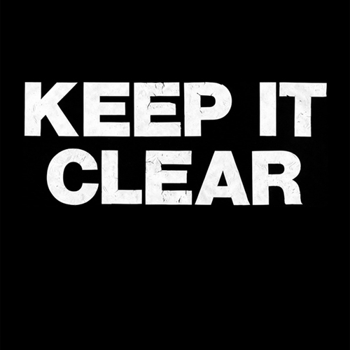 Keep It Clear - A Lesson That You're Gonna Learn LP