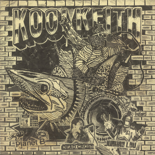 Kool Keith - Blast (shark color vinyl) EP