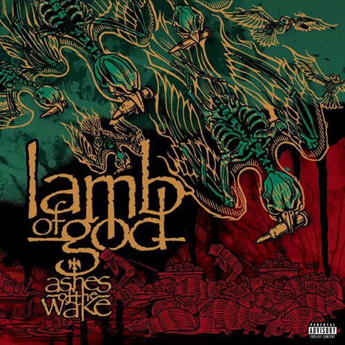 Lamb Of God - Ashes Of The Wake CD