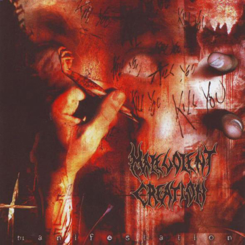 Malevolent Creation - Manifestation CD