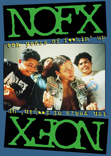 NoFX - Ten Years Of Fuckin Up DVD