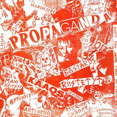 Propaganda: Russia Bombs Finland - Compilation LP