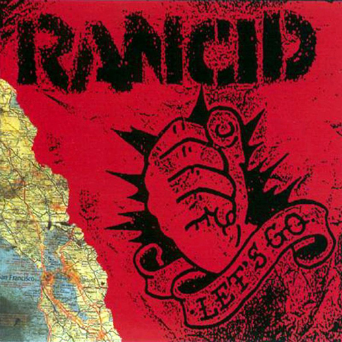 Rancid - Let's Go 2x10inch