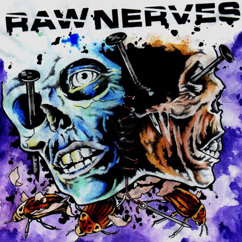 Raw Nerves - Self Titled LP