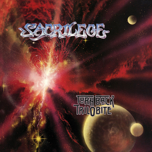 Sacrilege - Turn Back Trilobite CD