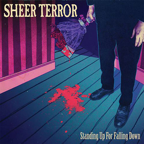 Sheer Terror - Standing Up For Falling Down CD