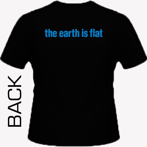 Supertouch - The Earth Is Flat Shirt