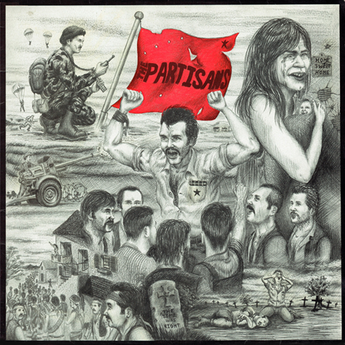 The Partisans - The Time Was Right LP