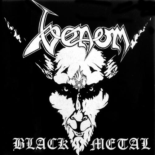 Venom - Black Metal CD