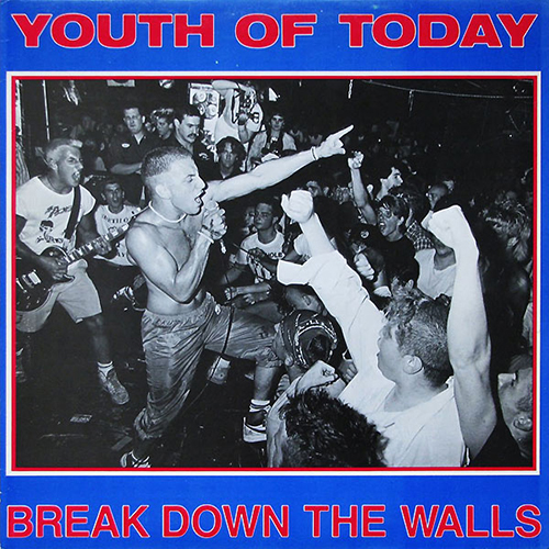 Youth Of Today - Break Down The Walls (rev repress) LP