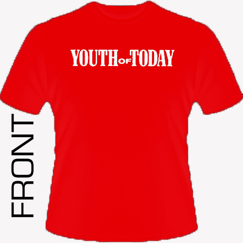 Youth Of Today - We're Not In This Alone (red) Shirt