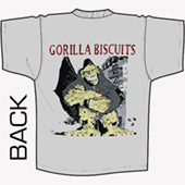 Gorilla Biscuits - Hold Your Ground (grey)