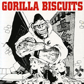Gorilla Biscuits - Hold Your Ground (navy blue) MCD