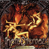 Hate Eternal - Upon Desolate Sands (red vinyl) CD