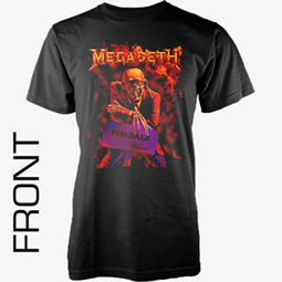 Megadeth -  Shirt