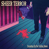 Sheer Terror - Pall In The Family (brown vinyl) CD