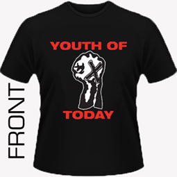 Youth Of Today - We're Not In This Alone (rev repress) Shirt