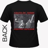 Youth Of Today - Positive Outlook (black)