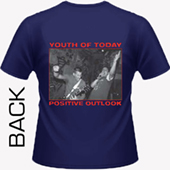 Youth Of Today - Positive Outlook (navy blue)