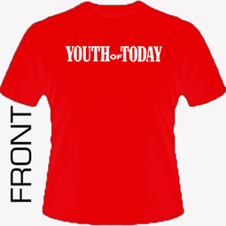 Youth Of Today - We|re Not In This Alone (red)